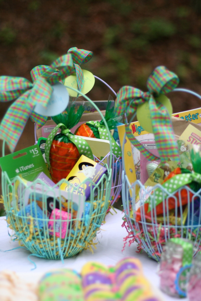 Long party of five jack turns two favors for the kids came in the form of family easter baskets stuffed to the brim with assorted goodies from the target dollar spot sidewalk chalk negle Images