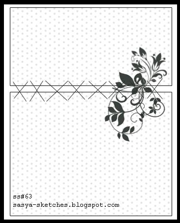 Черно-белые шаблоны для открыток