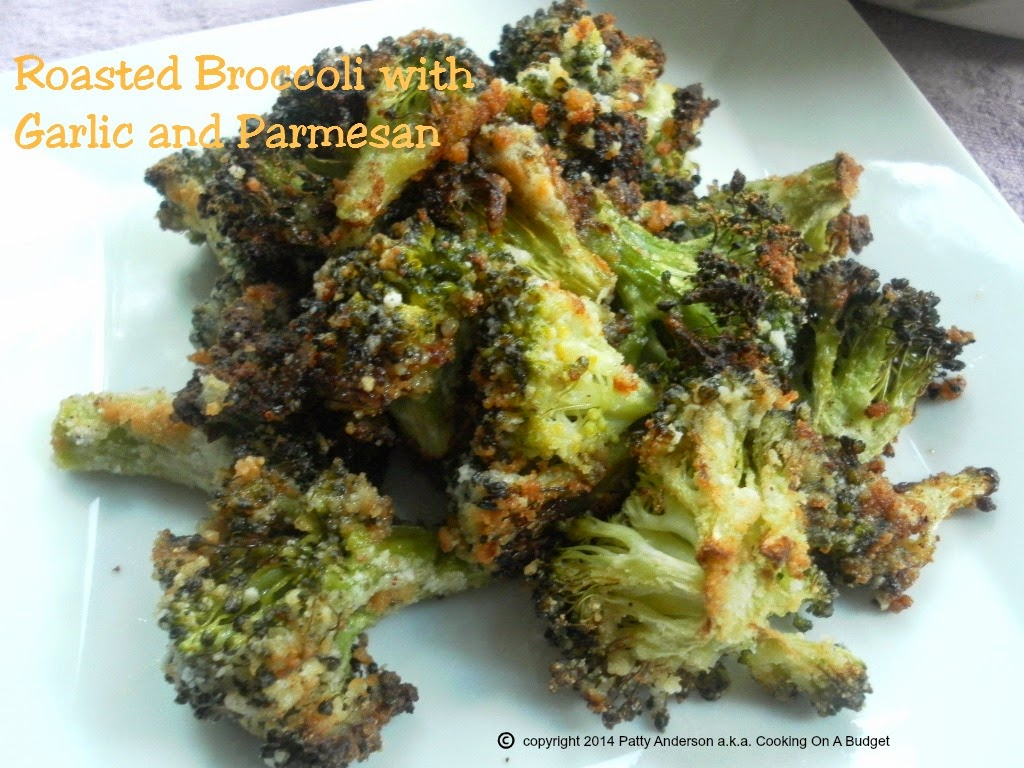 Roasted Broccoli with Garlic and Parmesan