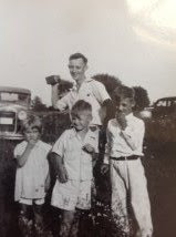Climbing My Family Tree: Angie Henn, her father Owen Carl Henn, and her brothers