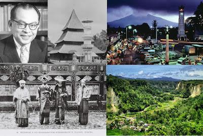 Ilustrasi Salah Satu Kota Tujuan Wisata Sejarah Di Indonesia Bukittinggi - Travelwan