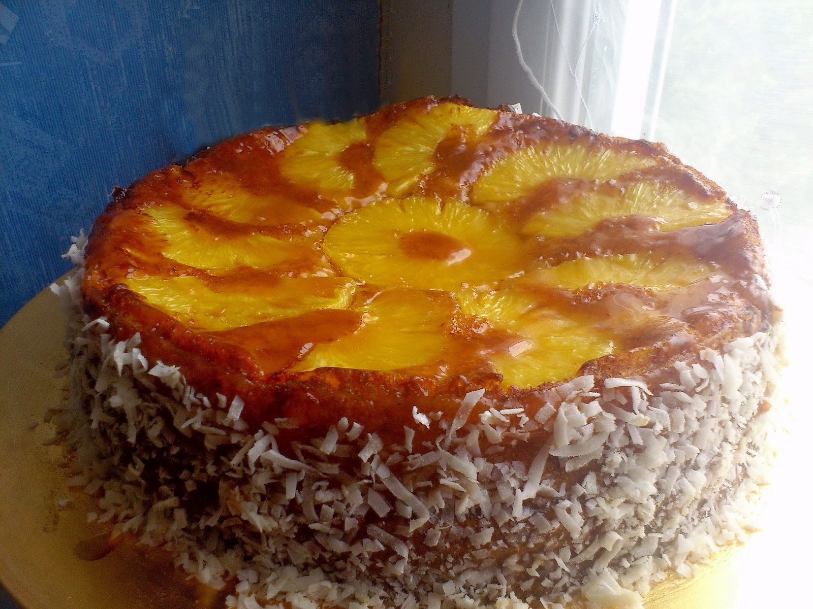Gateau ananas en boite sans beurre