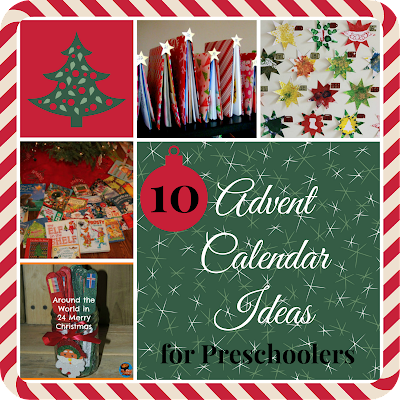 10 christmas advent calendar ideas for preschoolers