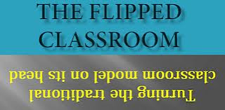 sign that says flipped classroom