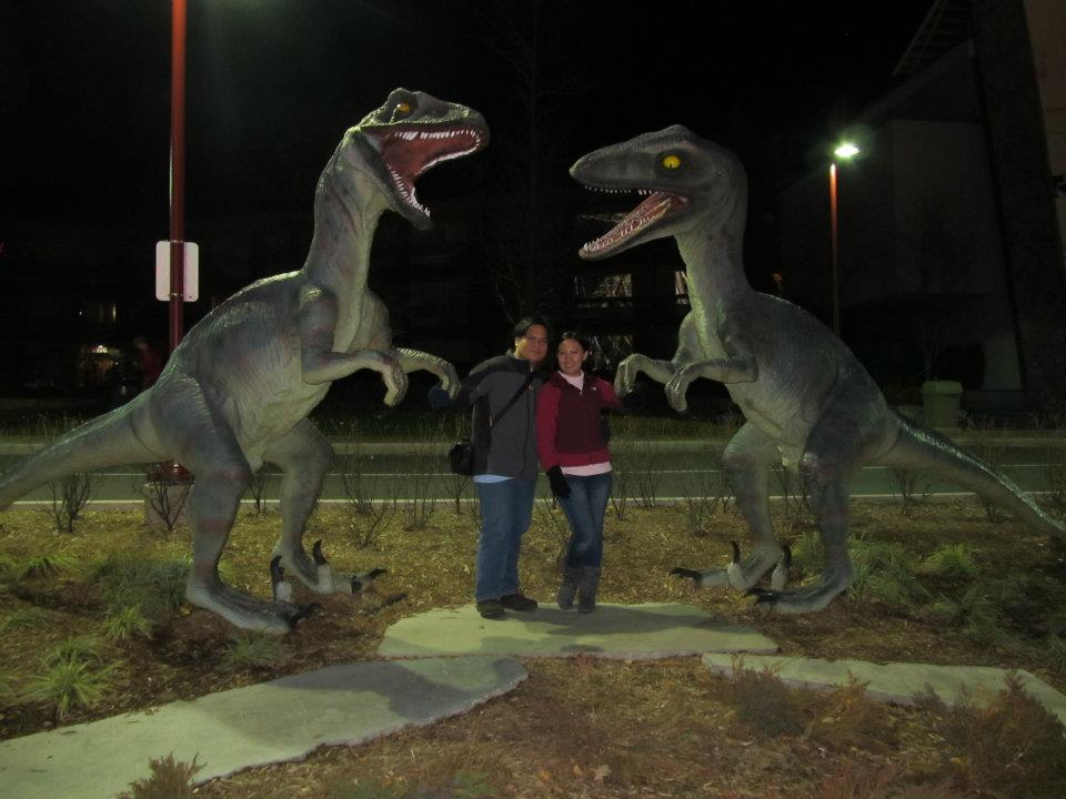 Ontario Canada Clifton Hill Dinosaur Adventure Golf