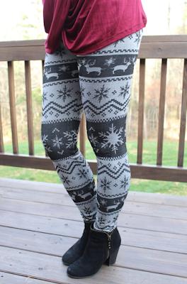 reindeer leggings, molly suzanne