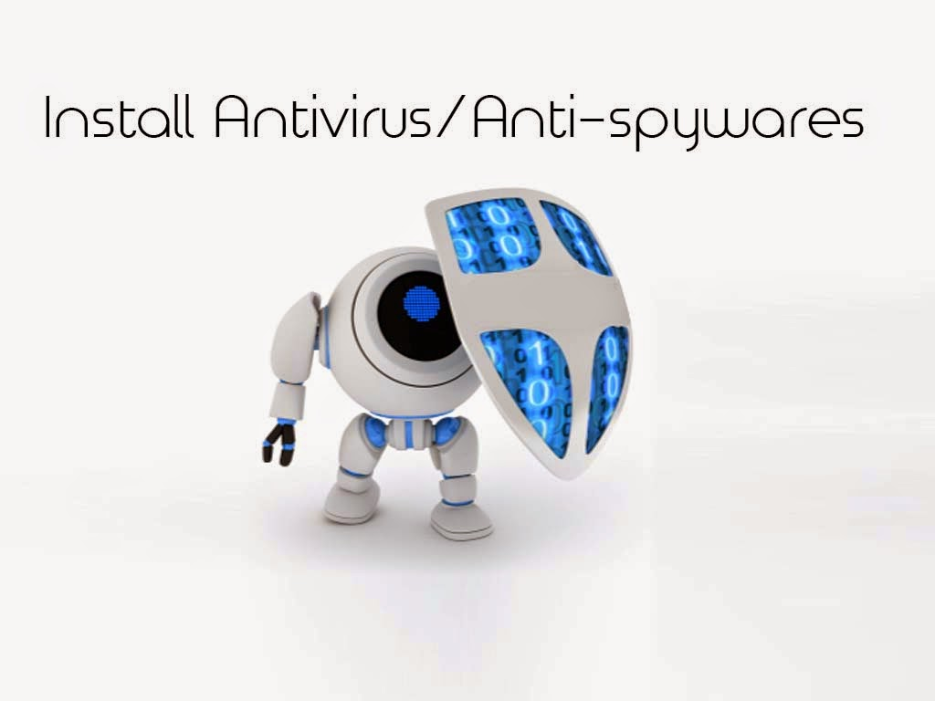 Install a good Antivirus/Anti-spyware