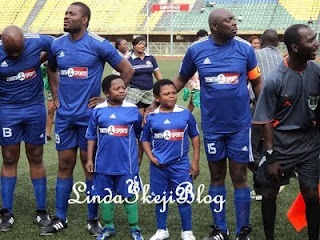 Photos From  Christy Essien Igbokwe's Novelty Match 1
