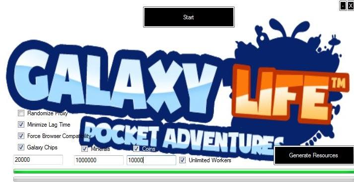 Galaxy Life Hack Tool 2013 | New games hack