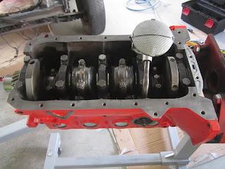 New oil pump installed Volvo 122S B20B