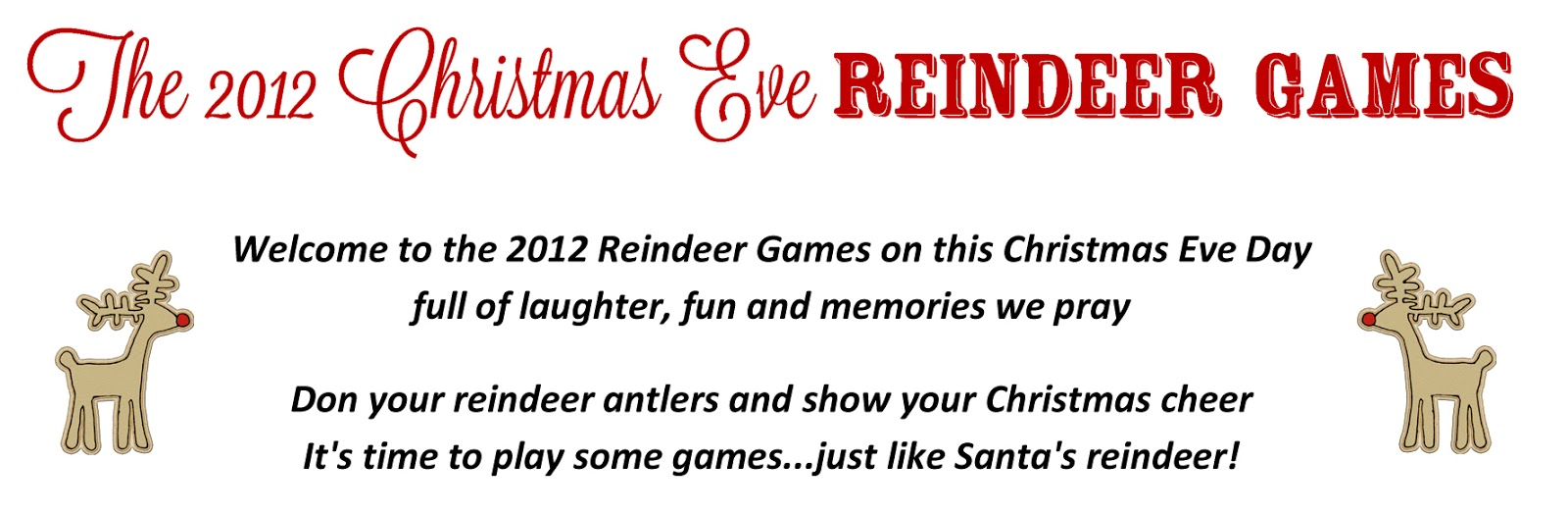 Life.Design. and the Pursuit of Craftiness: Reindeer Games on ...