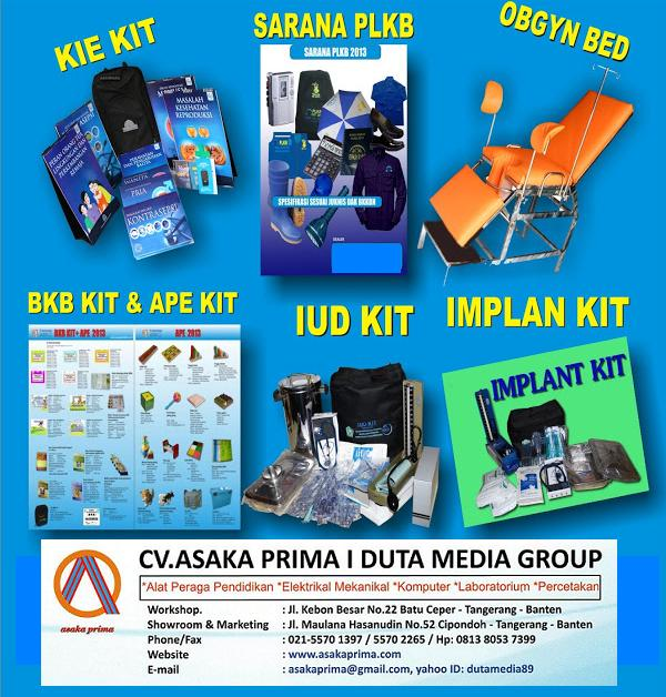 BKB-KIT, KIE KIT, IUD KIT, IMPLANT REMOVAL KIT, SARANA PLKB, PUBLIC ADDRESS BKKBN, obgyn bed, BKB KIT,