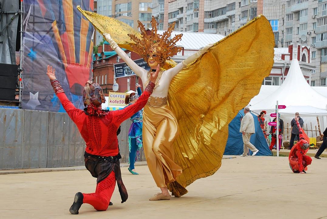 Пермь - Уличный театр Paranorma Street Theatre