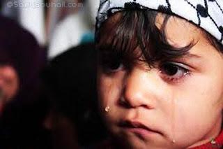أطفال في عمر الزهور... شعر حرعن أطفال فلسطين