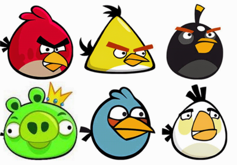 Gambar Mewarnai Angry Birds ~ Gambar Mewarnai Lucu