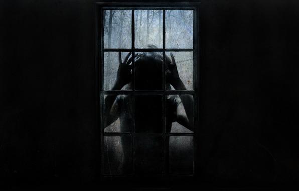 vulto na janela