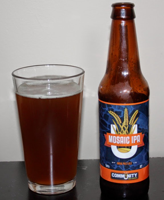 Name: Community Beer Company Mosaic IPA Style: Imperial IPA ABV: 8.6%