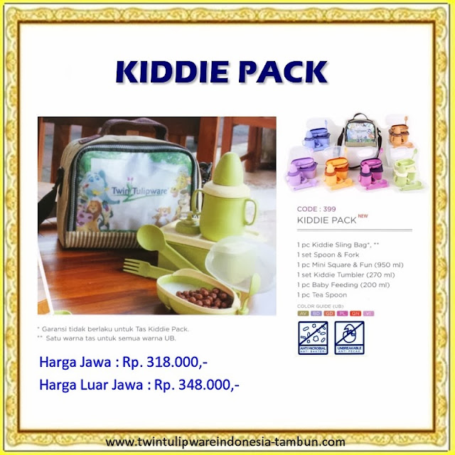 Kiddie Pack Tulipware 2013