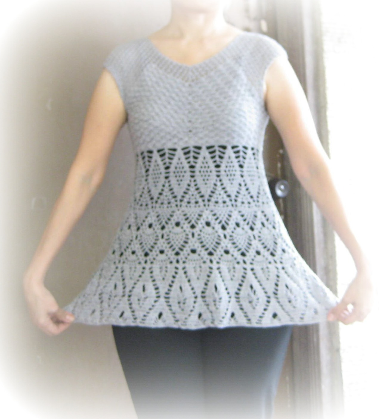 Crochet Patterns Lace Tops : Crochet and Other Stuff: Recent FOs - Crochet Wearables!