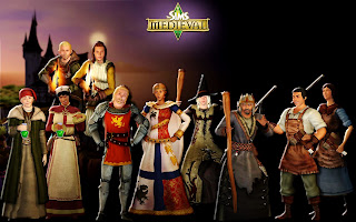 The Sims Medieval Characters HD Wallpaper