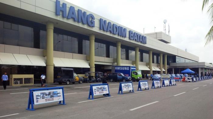 Logo Bandar Udara Hang Nadim Batam