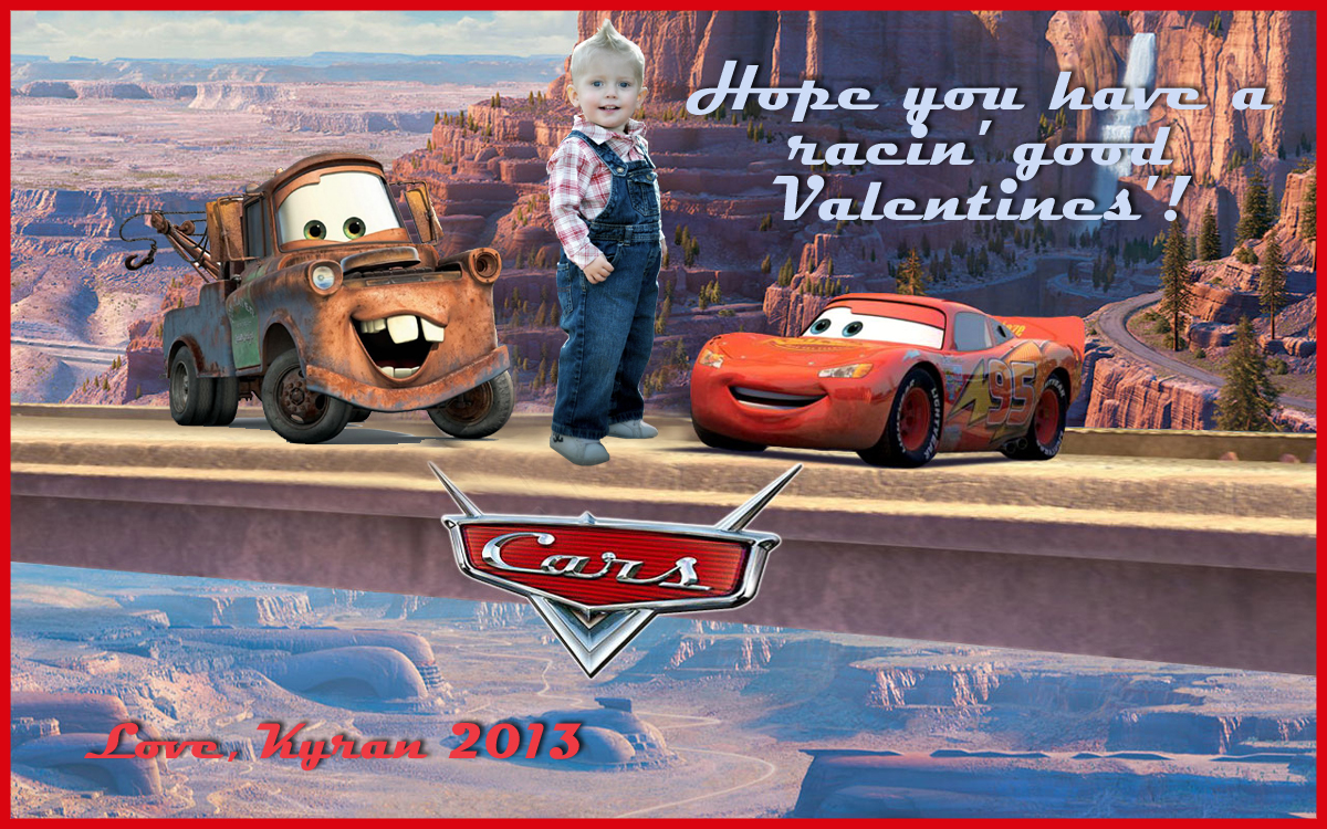 hunt announcements and invites disney cars lightning mcqueen disney cars lightning mcqueen tow mater valentines card