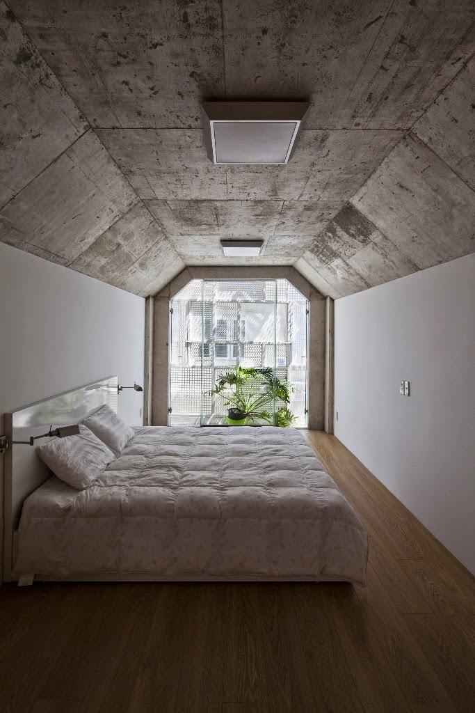 Kamar Tidur Rumah Sempit 3x10 Meter