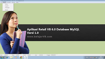 Aplikasi VB 6.0 Database MySQL - Download Gratis