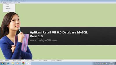 Aplikasi VB 6.0 Database MySQL - Download Gratis
