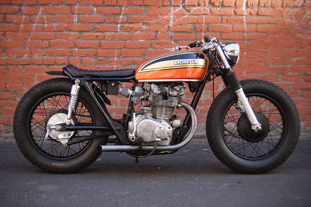 But It Is One Of My Dream Day Or Another I Want To Buy A Small Honda These 250 350cc And Make Stunning Cafe