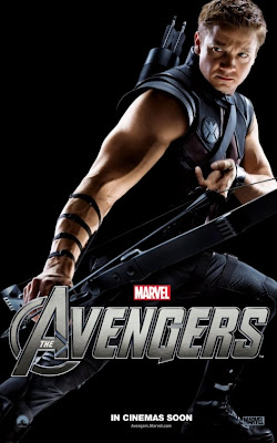 The Avengers Character One Sheet Movie Poster Set 2 - Jeremy Renner as Hawkeye