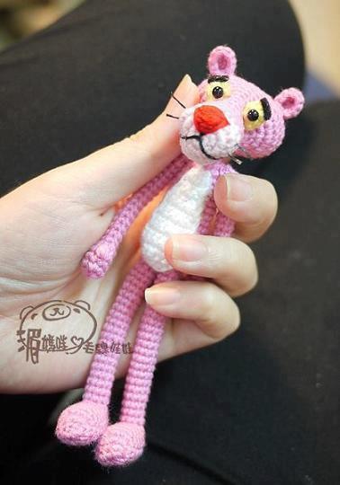 Crochet Doll Hat Pattern Free : Panthere Rose Amigurumi