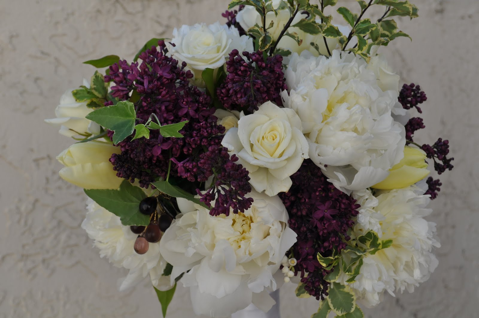 Flowers By Erin The Wine Themed Wedding