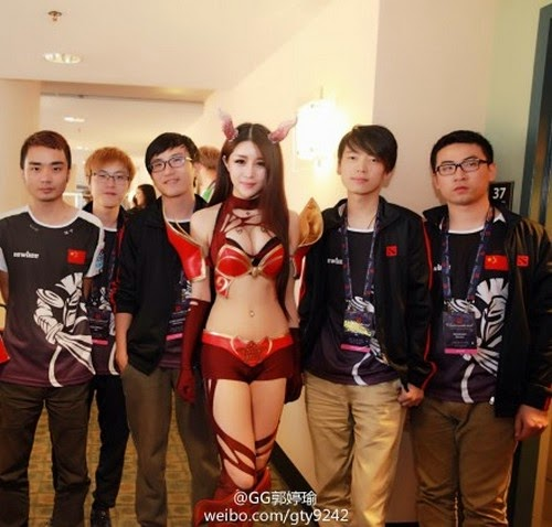 Ginyguo Queen of  Paint Dota 2