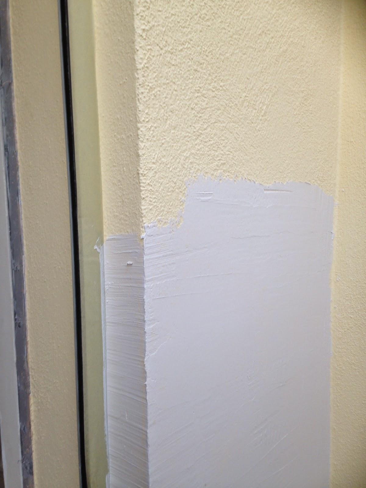 travaux faciles lisser des murs l 39 enduit cr pis ou. Black Bedroom Furniture Sets. Home Design Ideas