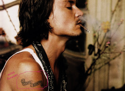 Winona Ryder And Johnny Depp Tattoo emiliakukkala b...