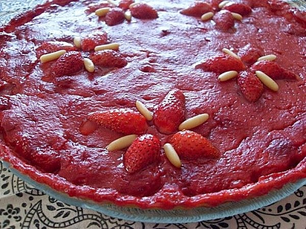 Tarte Aux Fraises Vegetalienne Recipes — Dishmaps