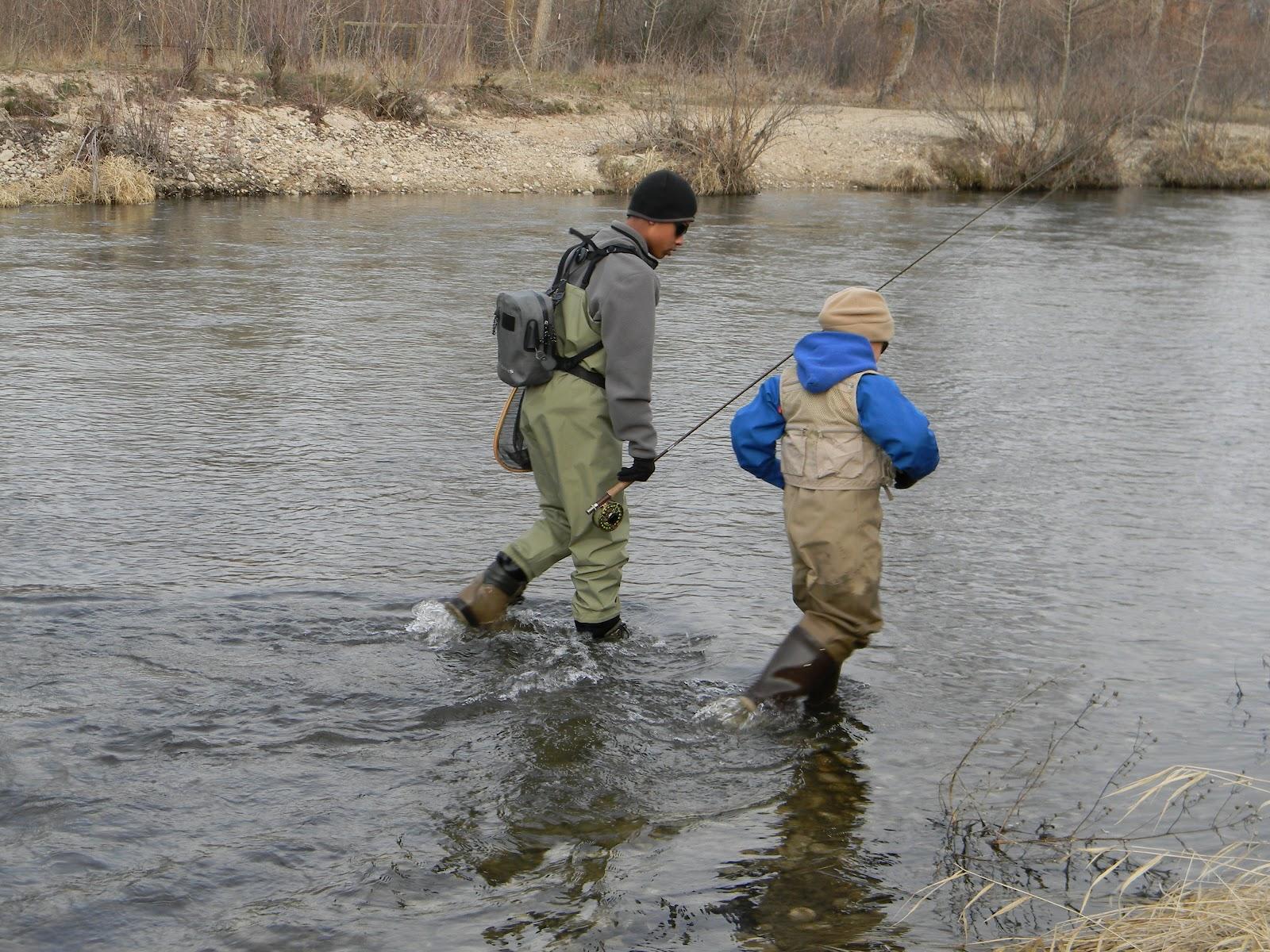 The quixotic angler the boise river near eagle id for Fly fishing boise idaho