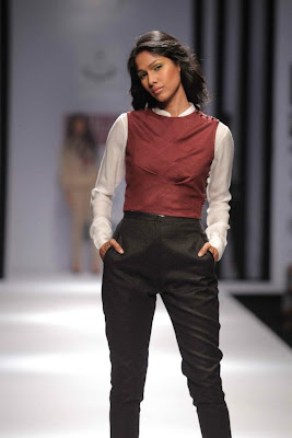 Meera Ali at Wills Lifestyle India Fashion Week - Autumn Winter 2012 Day 5