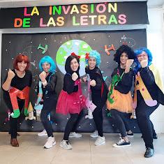 LA INVASIÓN DE LAS LETRAS