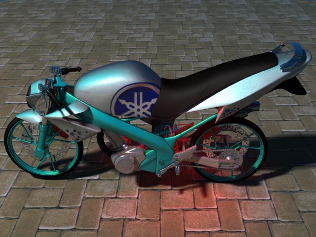 3Ds Max MODEL yaamha VIXION