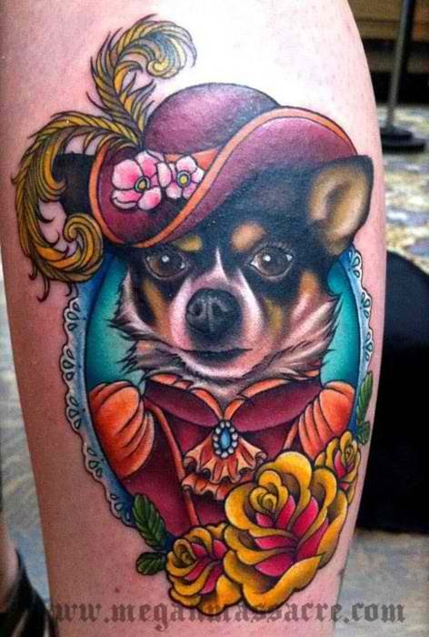 Amazing tattoos by Megan Massacre