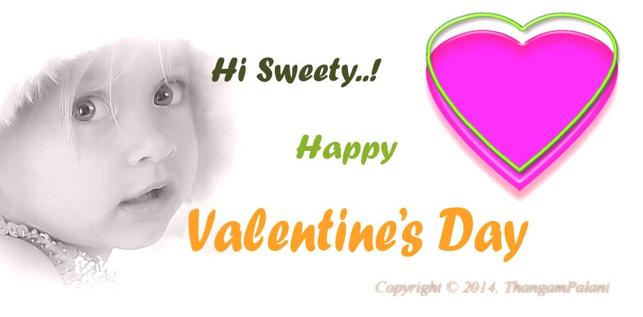 Celebrate Happy Valentine's Day with you Sweet heart.