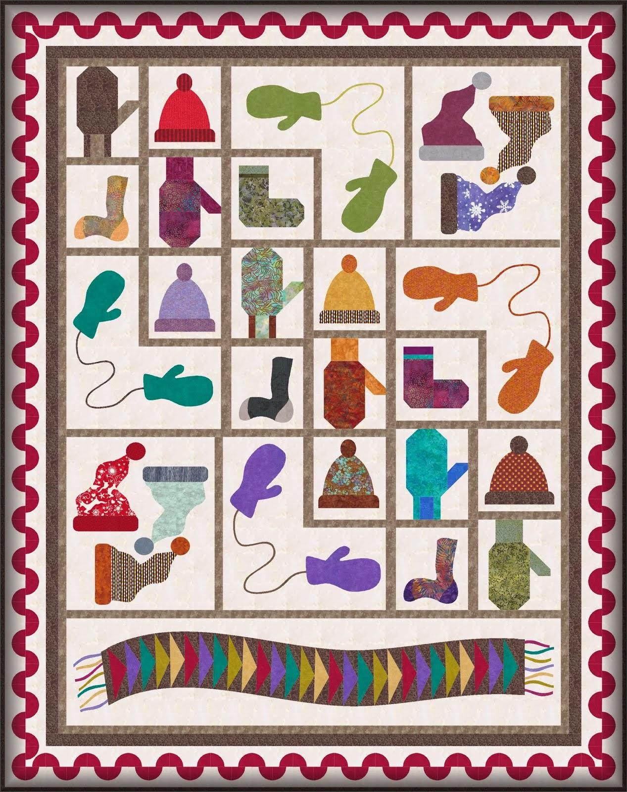 Knitter's Gift Free 2014 BoM