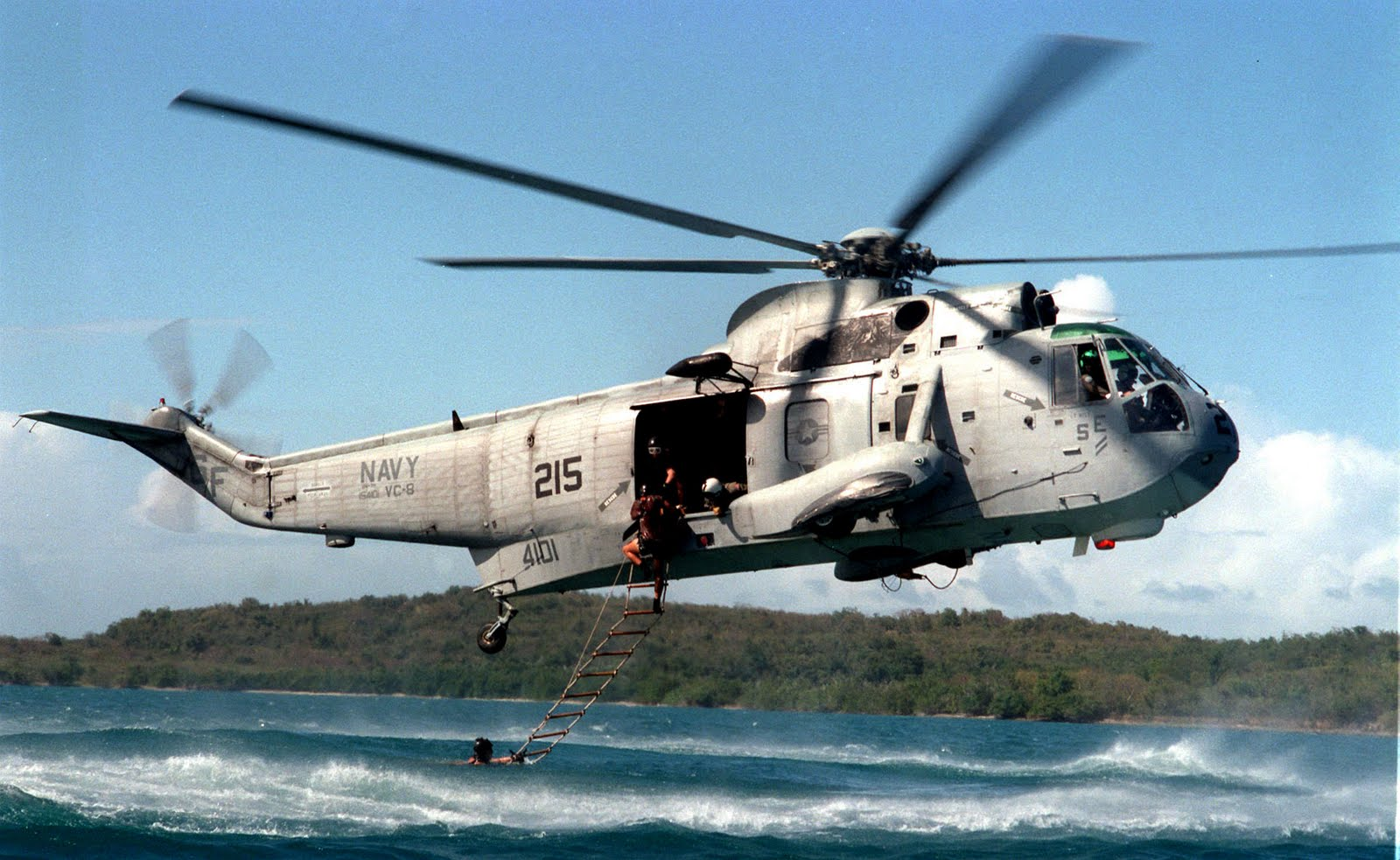 when was the helicopter first used in war with H 3 Sea King All Weather Helicopter on Gulf War Strategy as well Airport moreover Bell UH 1F moreover Car 15 besides First Man On Mars Leonardo Da Vinci 7012414.