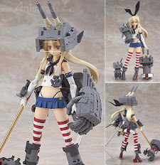 Figura Alloy Shimakaze Kantai Collection KanColle