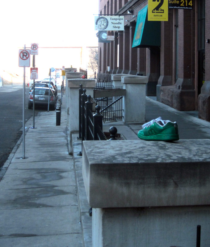 Twin City Sidewalks: Sidewalk Flotsam #4