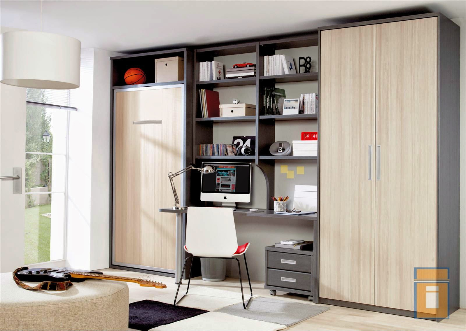 Armimobel muebles con vida dormitorios juveniles e - Habitaciones juveniles espacios pequenos ...