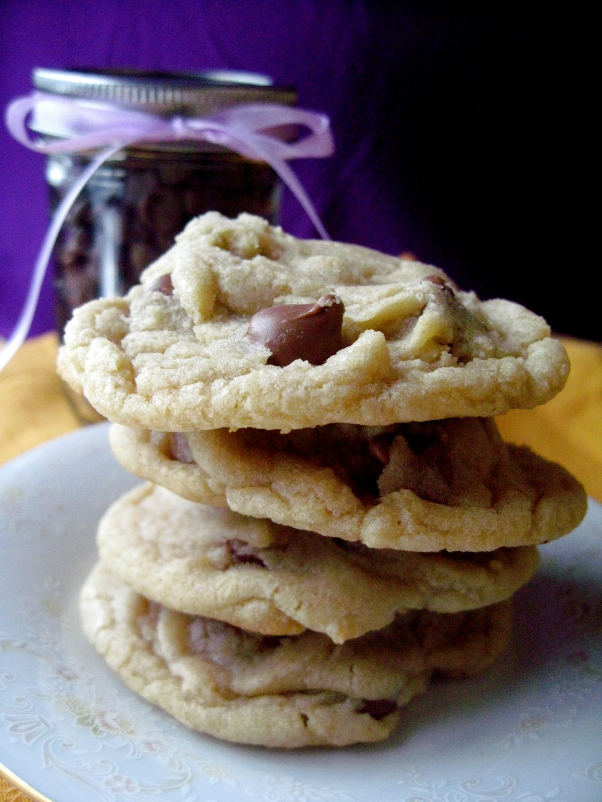 Big Chocolate Chip Cookies - Your Cup of Cake