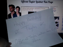 Official Taylor Lautner Fan Page